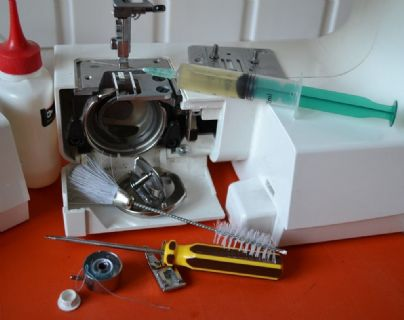 Cleaning Service - Sewing Machines